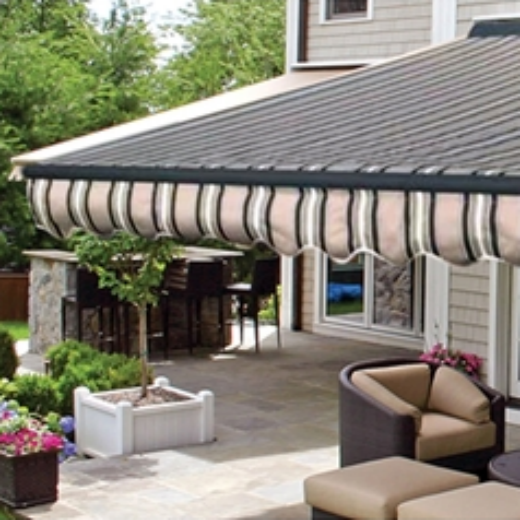 ALEKO® 13X10 Ft HALF CASSETTE RETRACTABLE PATIO AWNING - WIDE VARIETY OF COLORS