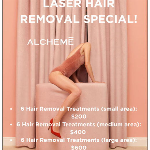 Laser Hair Removal Special! by ALCHEME