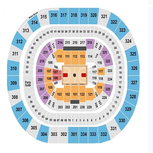 Portland Trail Blazers - Tickets (Wednesday, 11/27/19 @ 7:00pm) vs Oklahoma City Thunder @ Moda Center
