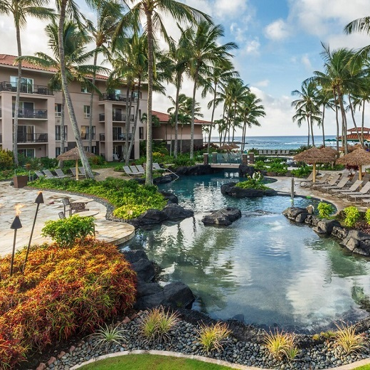 Marriott's Waiohai Beach Club Koloa , HI , USA October 26 2019 - November, 02 2019