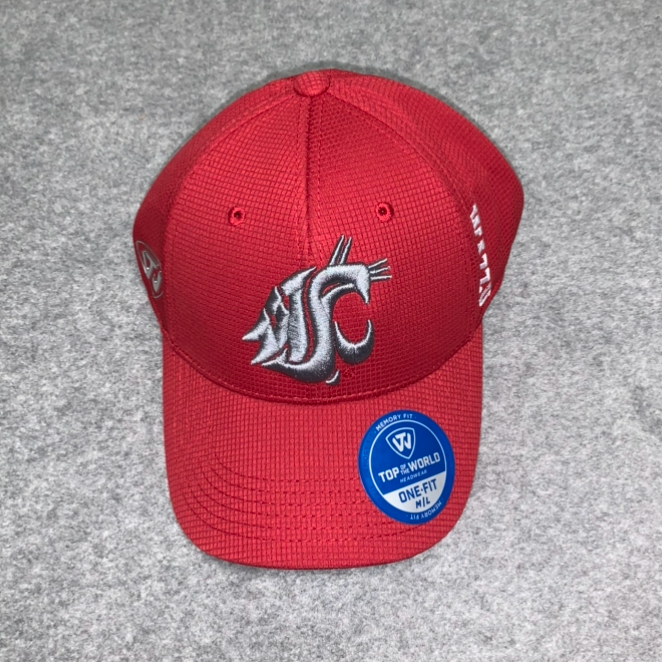Washington State University - Top Of The World Crimson Cougars Ball Cap
