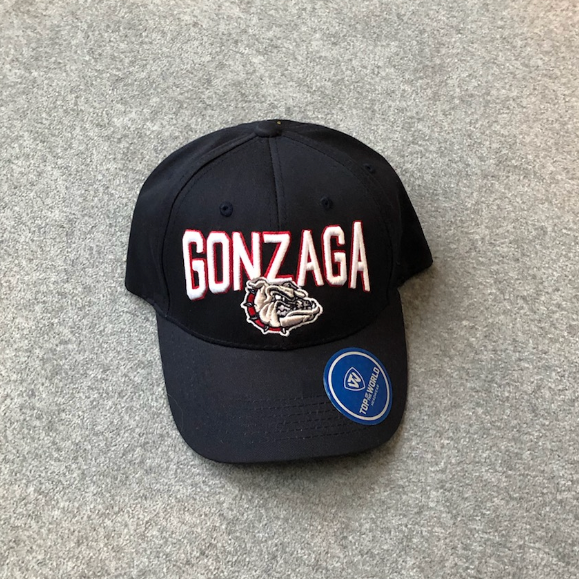NWT Top of the World Gonzaga Adjustable Men's Navy Hat