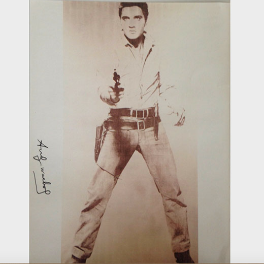 Single Elvis, 1986 by Andy Warhol