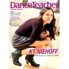 Dance Teacher Magazine Two Year  Subsciption