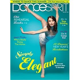 Dance Spirit Magazine Two Year Subscription