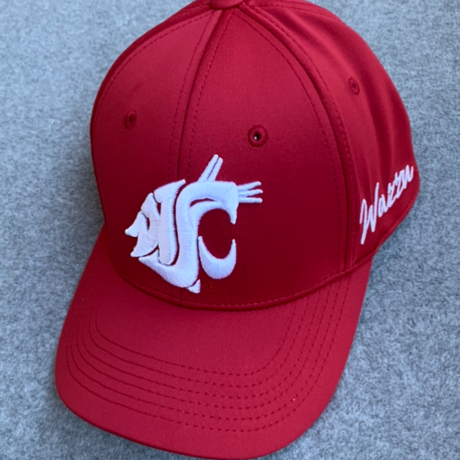 Washington State University - Top Of The World Memory Fit Crimson Hat
