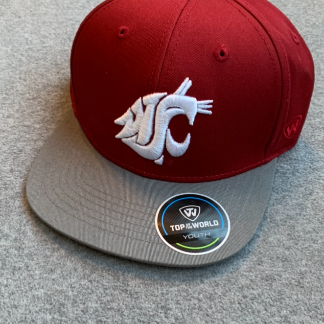 Washington State University - Top Of The World Adjustable Youth Hat