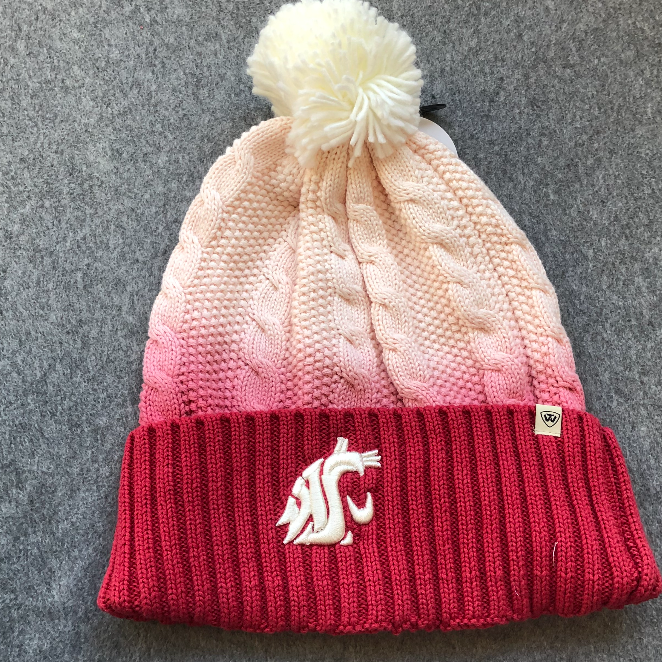 Washington State University - Top Of The World Fade Beanie