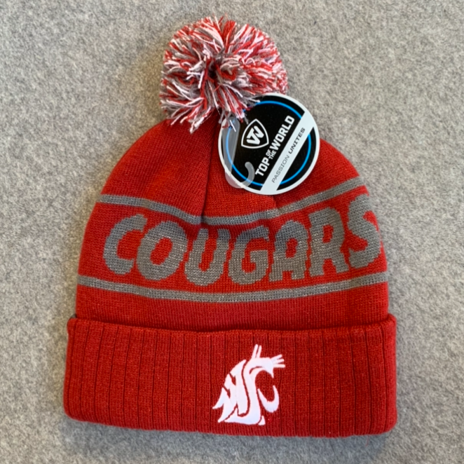 Washington State University - Top Of The World Beanie