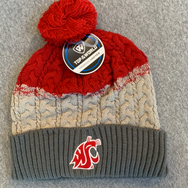 Washington State University - Top Of The World Knit Beanie