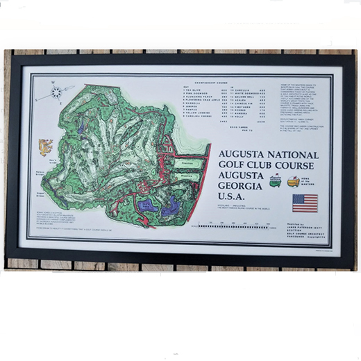 Augusta National Print - Framed