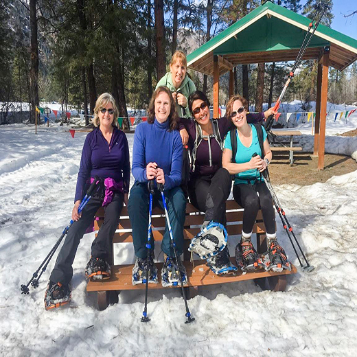 Snowshoeing/Wine Tours in Leavenworth Washington