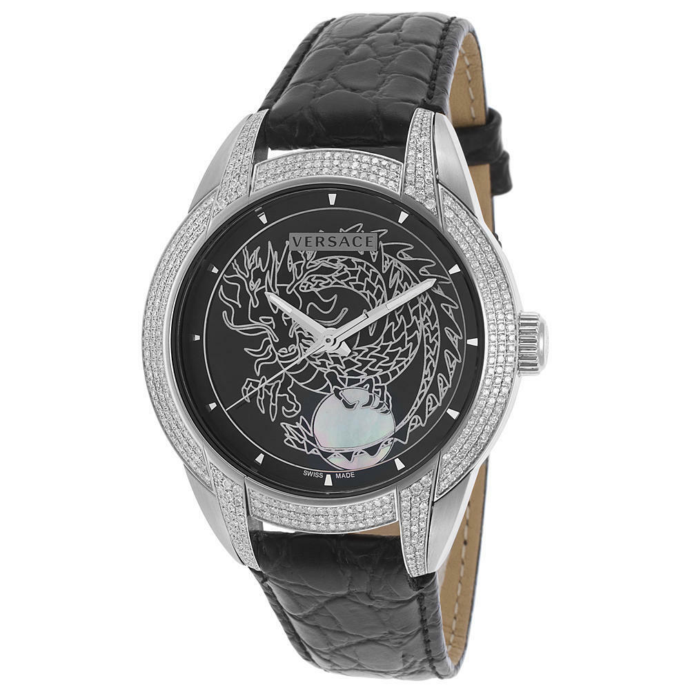 Versace Year of the Dragon Men's 42.5 mm Character Watch