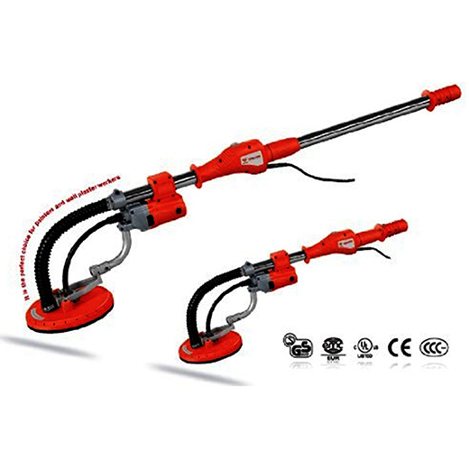 COMMERCIAL ELECTRIC DRYWALL SANDER - 690E - ETL APPROVED - VARIABLE SPEED - TELESCOPIC HANDLE