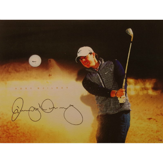 Rory McElroy Signed Picture