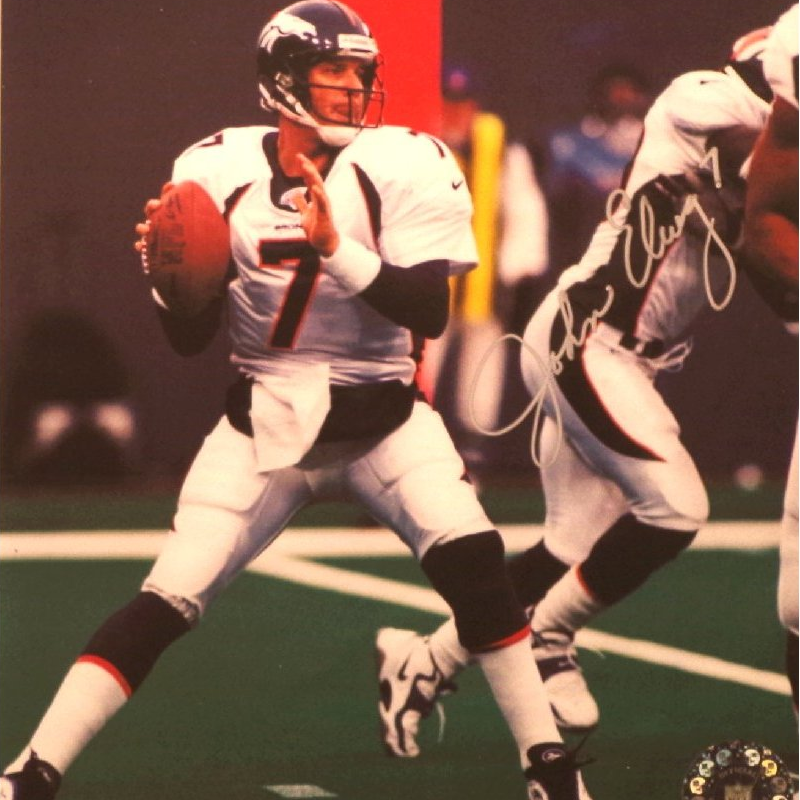 John Elway Signed Picture