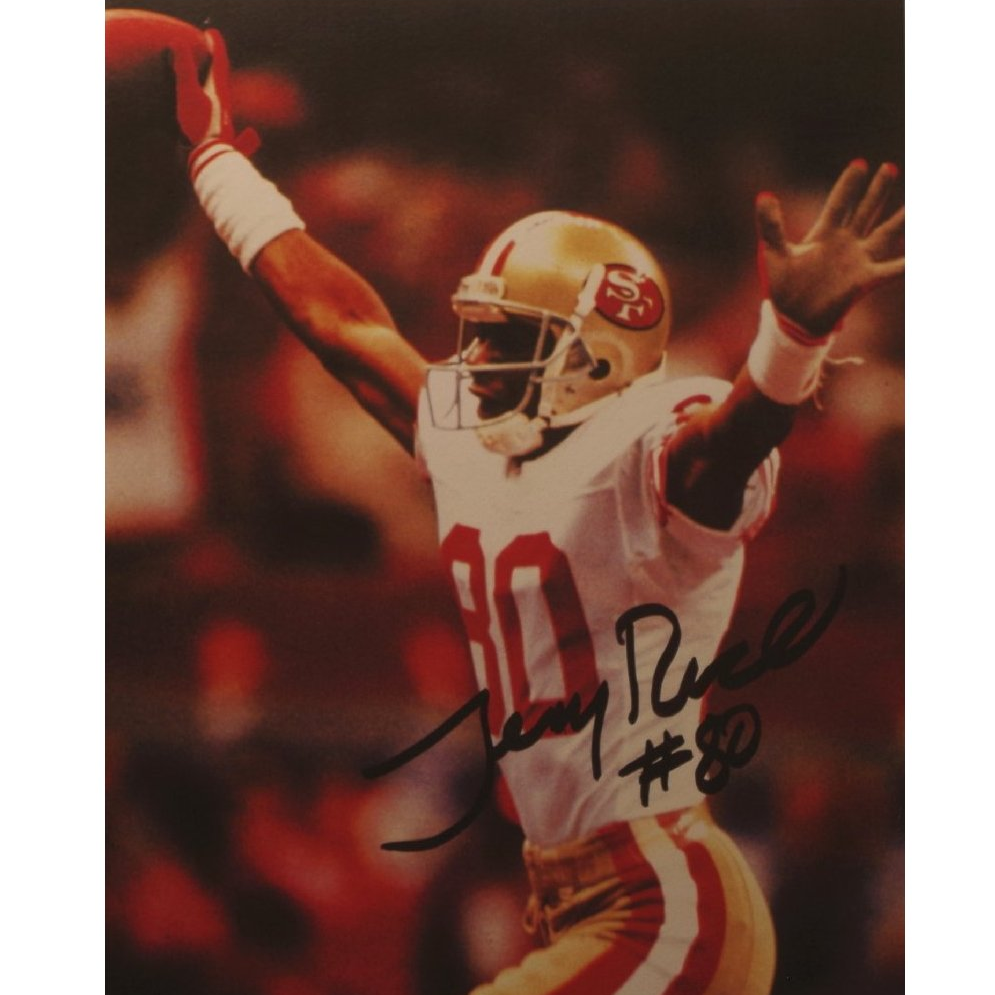 Jerry Rice Signed Picture