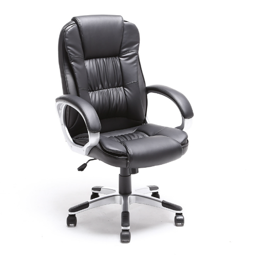 ALEKO® ERGONOMIC OFFICE CHAIR - BLACK