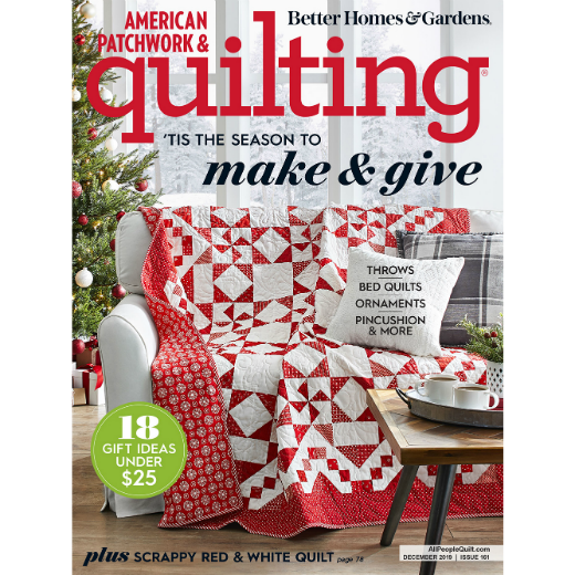American Patchwork & Quilting (18 Issues)