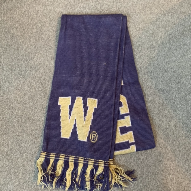 University of Washington Scarf - Purple & Gold