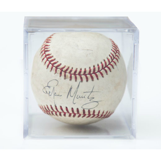 Autographed Hall-Of-Famer Edgar Martinez Baseball