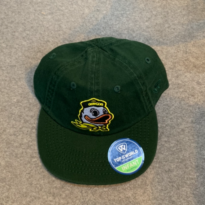 Oregon Ducks Infant Logo Ball Cap - Green, Adjustable