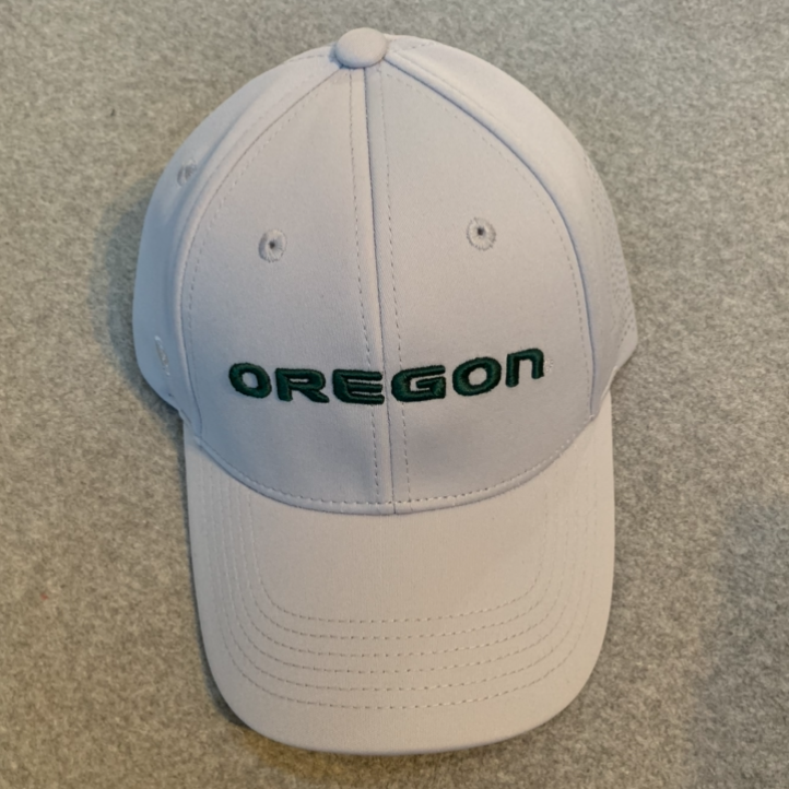 Oregon Ducks Ball Cap - Light Grey, Adjustable