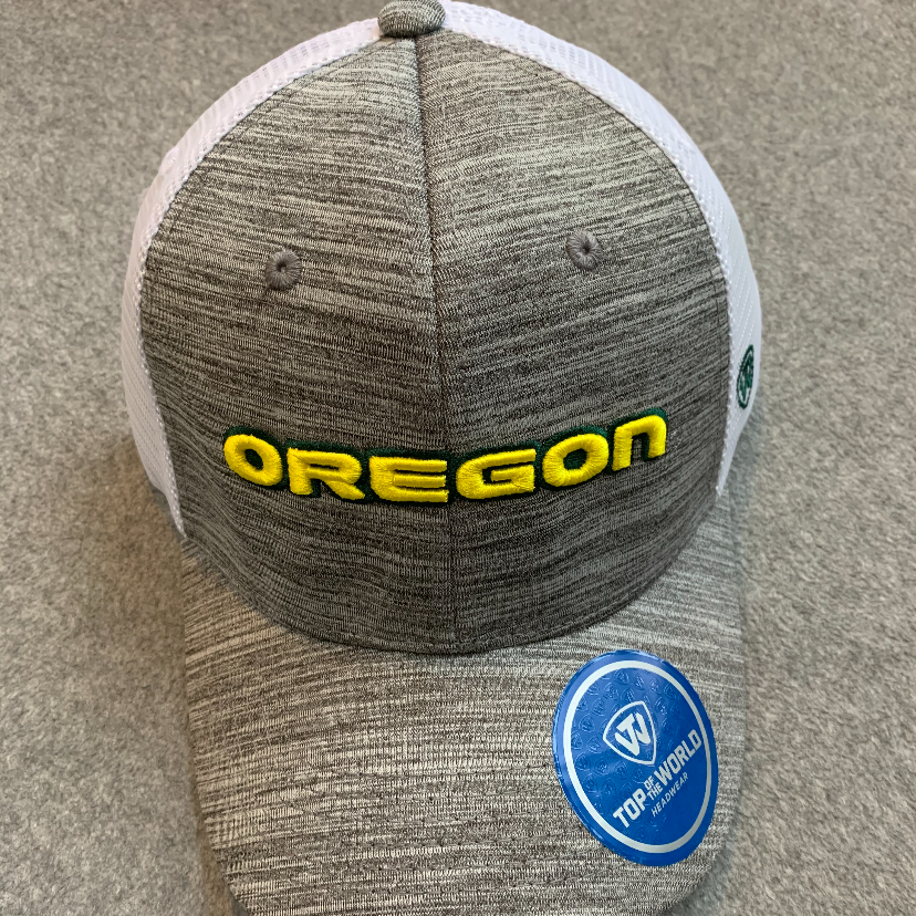 Oregon Ducks Ball Cap - Marled Grey