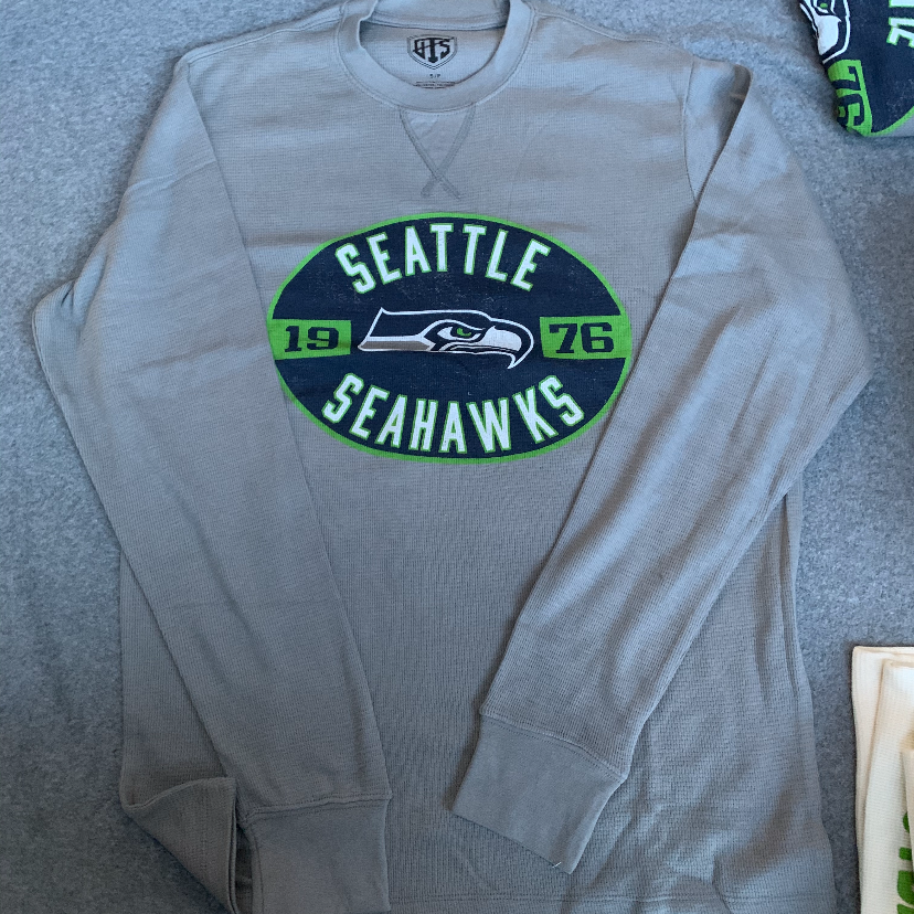 Seattle Seahawks Thermal - Grey