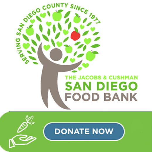 Donate $1,000 Dollars to San Diego Food Bank