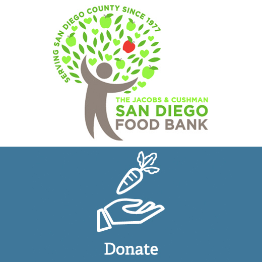Donate $500 Dollars to San Diego Food Bank