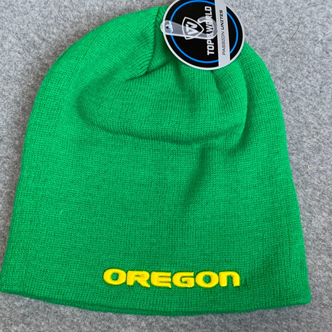 Oregon Ducks Beanie Cap - Green