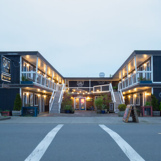 Certificate for a Two Night Stay at the Salt Hotel in Ilwaco, WA