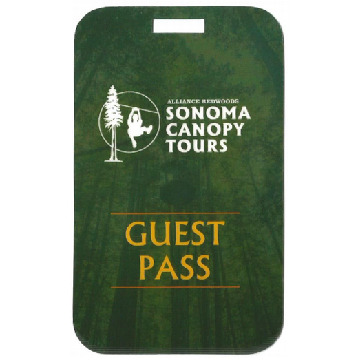 Sonoma Canopy Tree Top Zipline Tours Gift Certificates