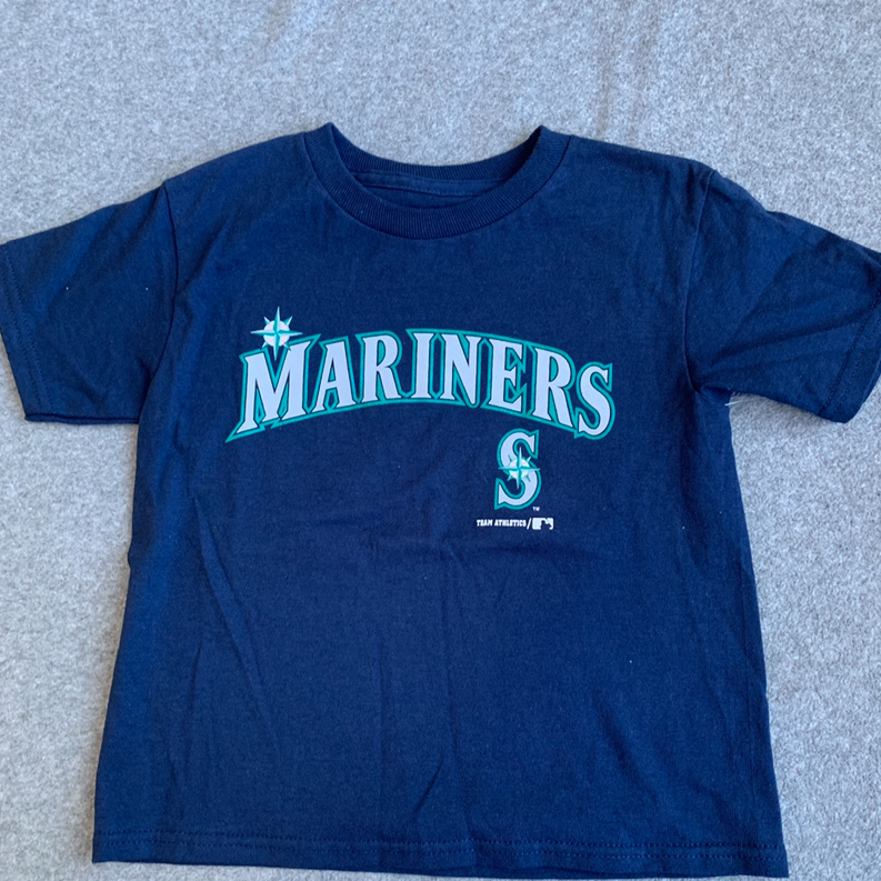 NWT Kids Seattle Mariners Tee - 2 sizes available.