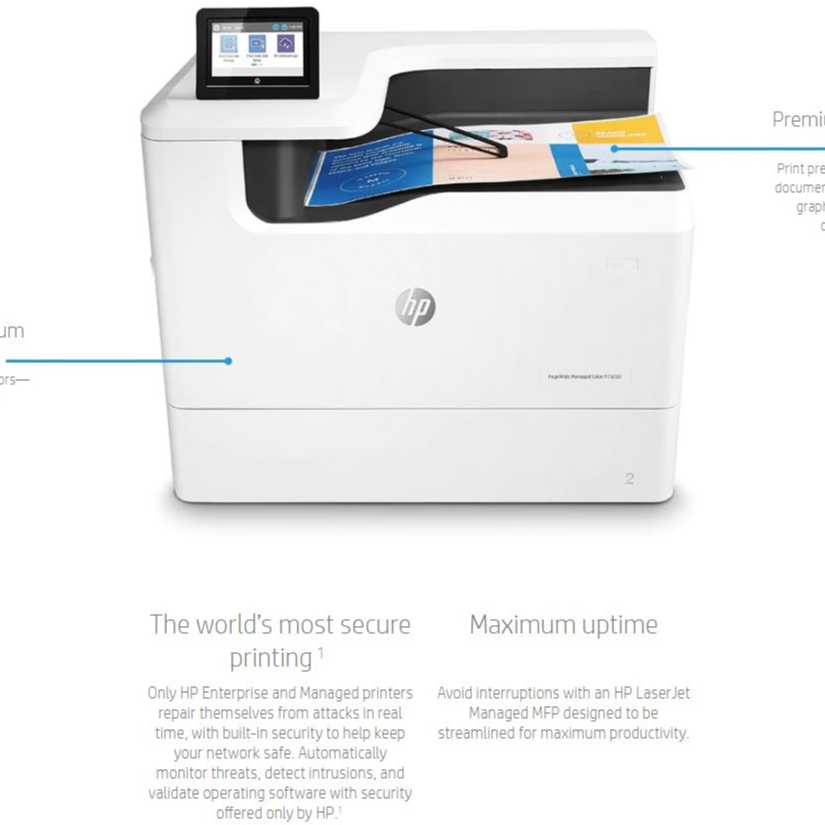 HP PageWide Color P75250dn A3 Printer with 12-Month Service Agreement