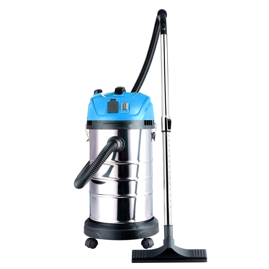 Lightweight Self-Cleaning Wet Dry Vacuum Cleaner - 8 Gallons - Blue
