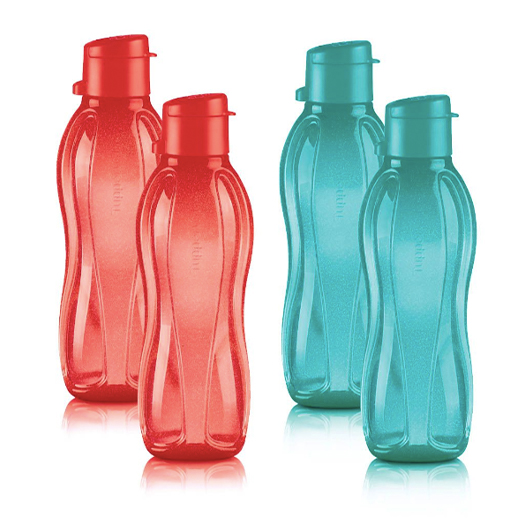 Small Eco Water Bottle 4-Pc. Set