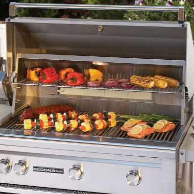 "Lynx- 24"" Sedona built-in grill, liquid propane with smoker set - L400PSR-LP (1 in stock)"