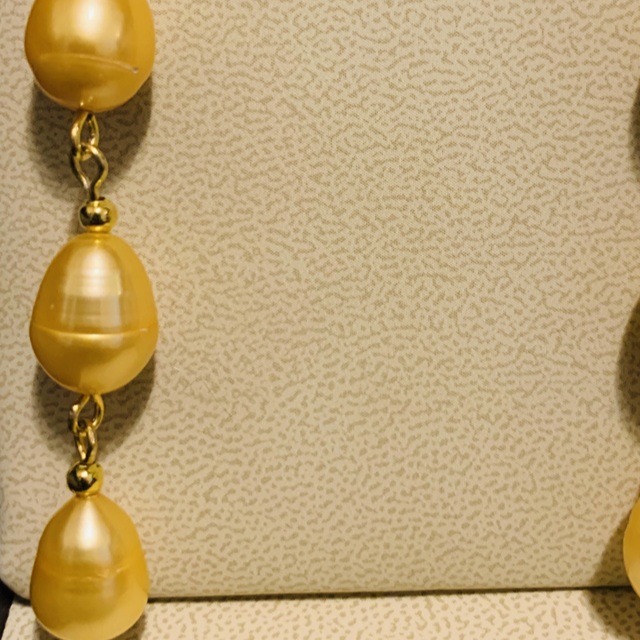 Triple Dangle Pearl Earrings