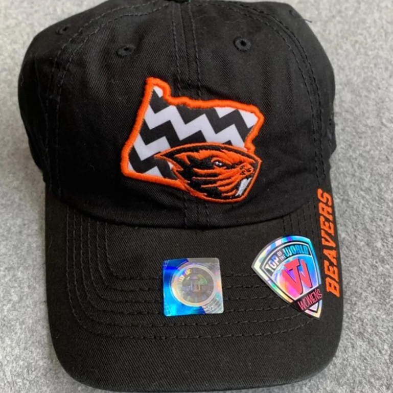 NWT Oregon Beavers OSU Womens Adjustable Hat