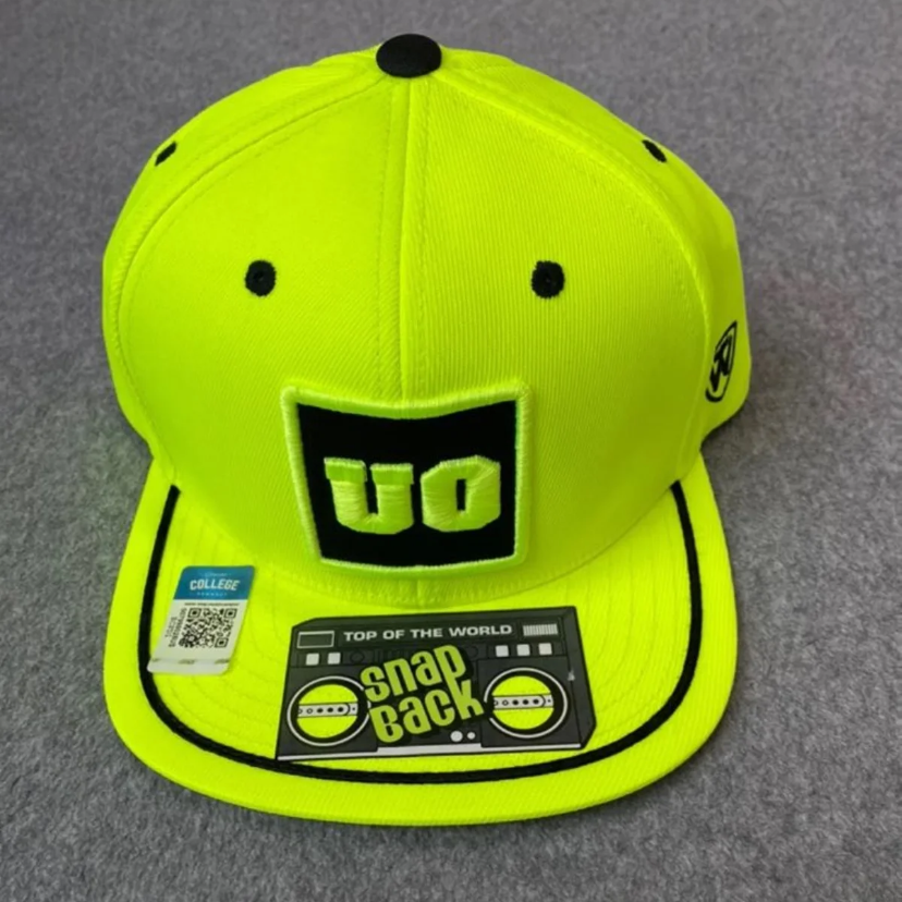 NWT Oregon Beavers Neon Flatbill Hat