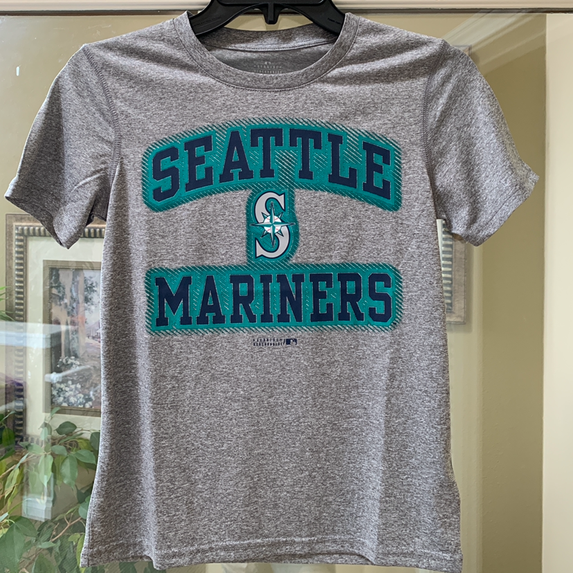 NWT kids youth Seattle Mariners teee