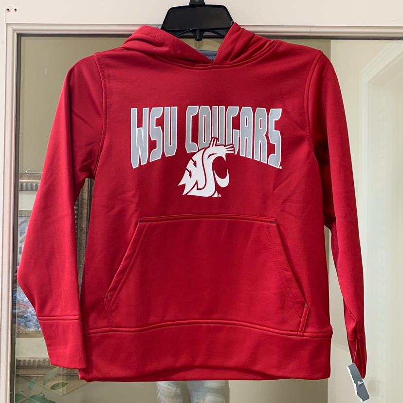 NWT youth WSU Cougars Crimson small hoodie