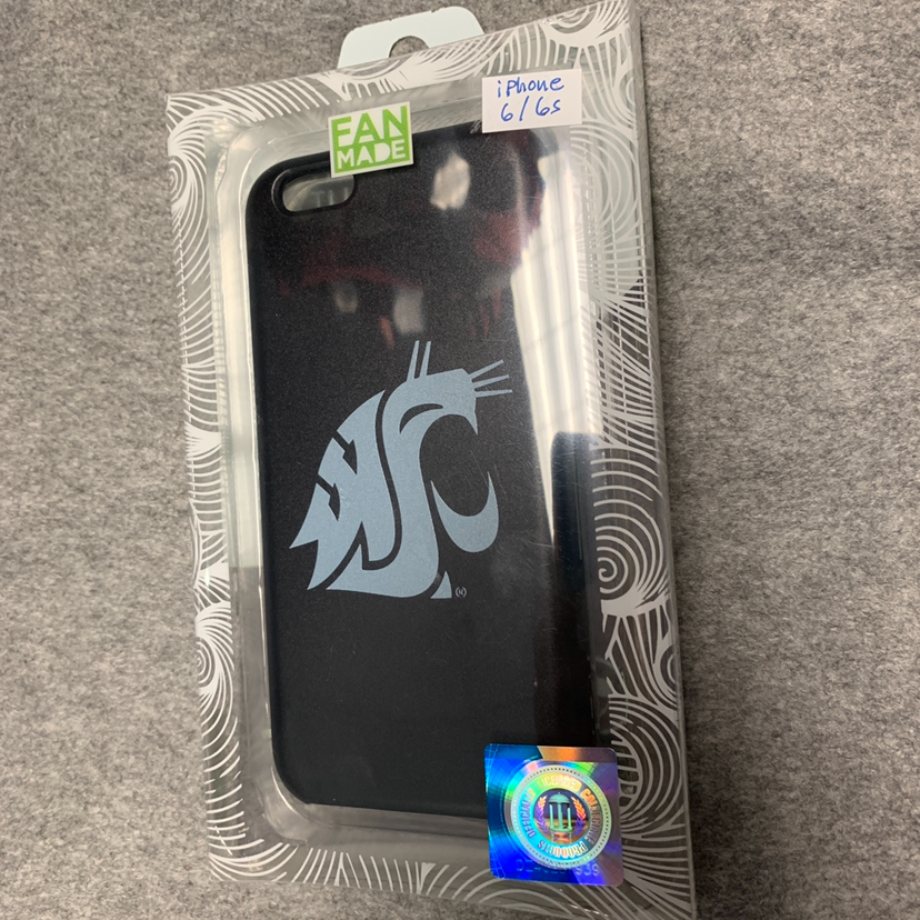 NWT WSU Cougars iPhone 6/6s case