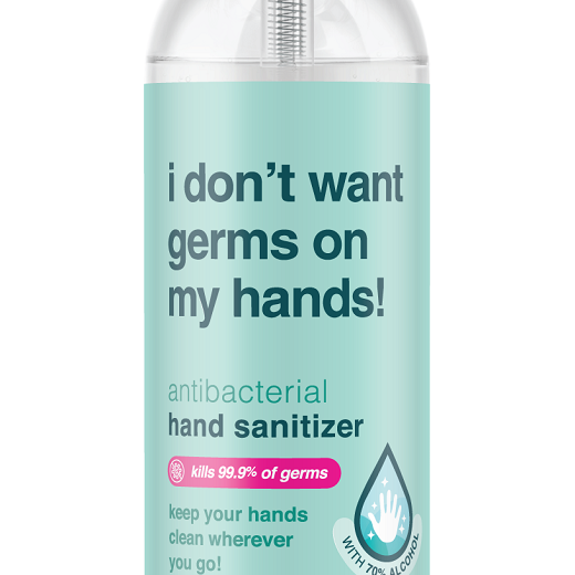 ANTIBACTERIAL HAND SANITIZER | I DON'T WANT GERMS ON MY HANDS! | 2oz. Bottle | 8oz. Bottle