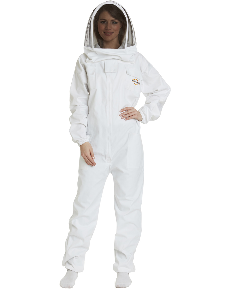 Apiarist Beekeeping Suit - Polycotton - Non-Flammable Fencing Veil - Backyard Beekeeper