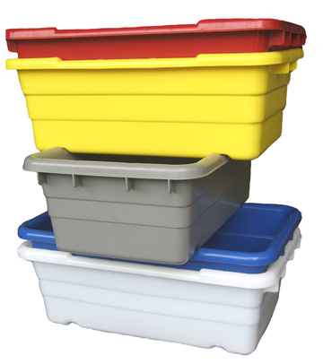 JL251609 Jumbo Lug Cross Stack & Nest Containers (Damaged A - BC)