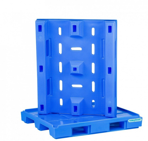 DP40RB - 40x48 Plastic Pallet (New)