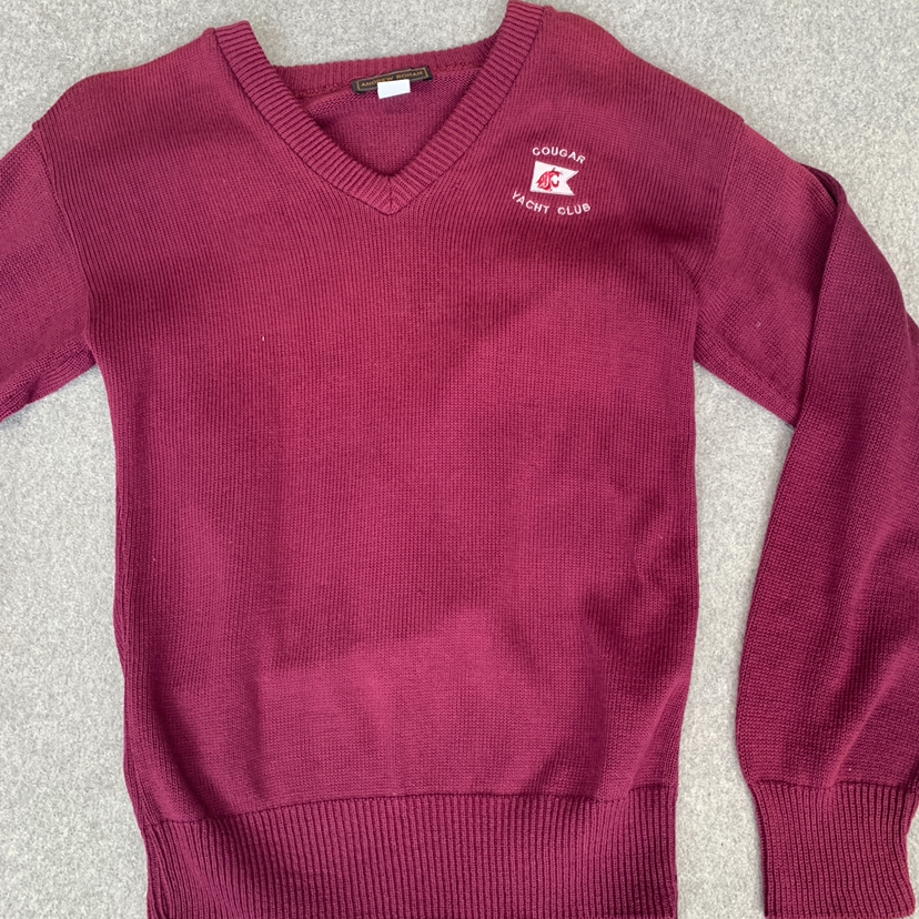 NWT Women's Cougars Yacht Club Sweater